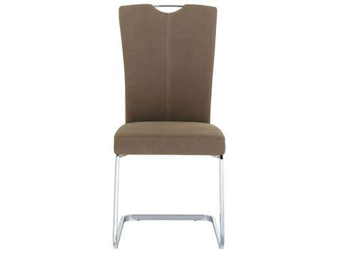 chaise sandy coloris marron vente de chaise conforama