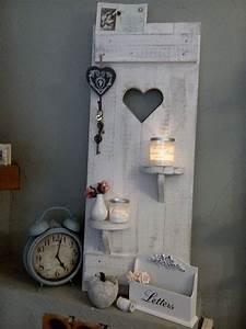 Ideen Mit Herz Facebook : hier kaufen sie einen traumhaften deko fensterladen mit 2 versetzten regalen shabby ~ Frokenaadalensverden.com Haus und Dekorationen