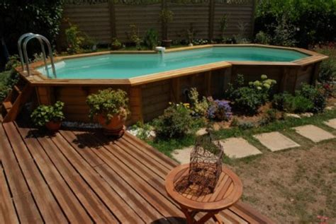 piscine hors sol bois castorama