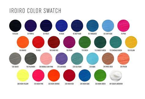 Iroiro Natural Semi-permanent Hair Colors Most Vibrant