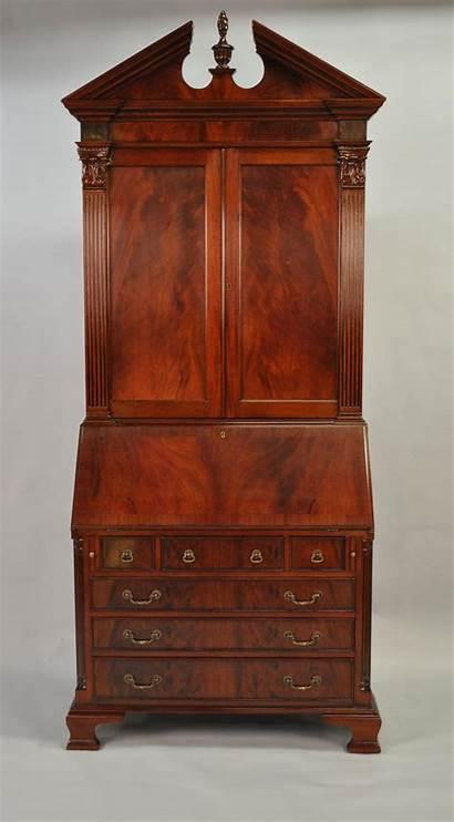 Secretary Desk Antique Mahogany Colonial Furniture Desks