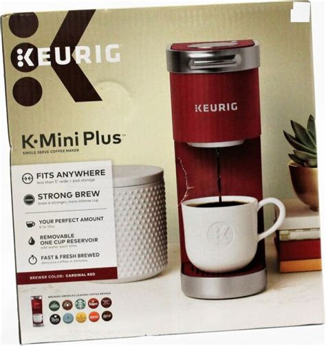 In this guide, we review those keurig machines and. Keurig K Mini Plus Coffee Maker - Cardinal Red for sale online | eBay