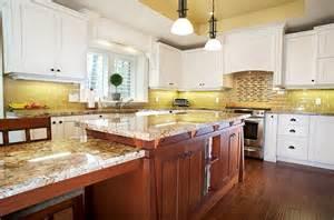 backsplash for yellow kitchen kitchen backsplash ideas a splattering of the most popular colors
