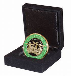 Challenge Coin Single-Coin Display Case-Military Issue