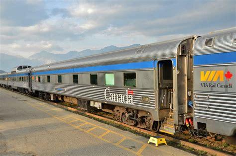Crossing Canada By Train Via Rail Canadian