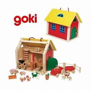 Maison Enfant Bois : jouet maison ferme en bois 31 pi ces pour enfant 3 ans ~ Teatrodelosmanantiales.com Idées de Décoration