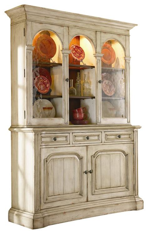Antique White Sideboards And Buffets by Furniture Summerglen 62 Inch Buffet And Hutch In