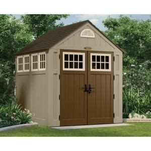 suncast 7 x 7 alpine shed suncast alpine 7 ft 2 in x 7 ft 6 in resin storage