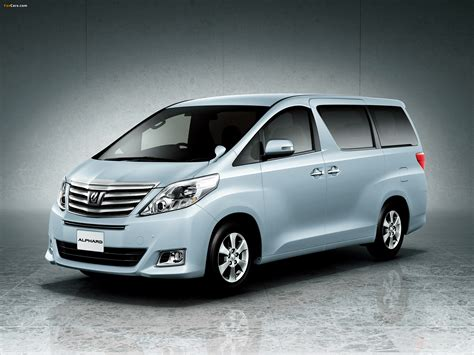 Toyota Alphard Wallpapers by Toyota Alphard 240x Anh20w 2011 Wallpapers 2048x1536