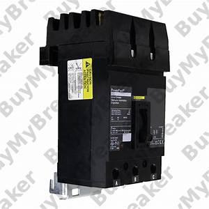 Square D Qga32200 3 Pole 200 Amp 240v Circuit Breaker