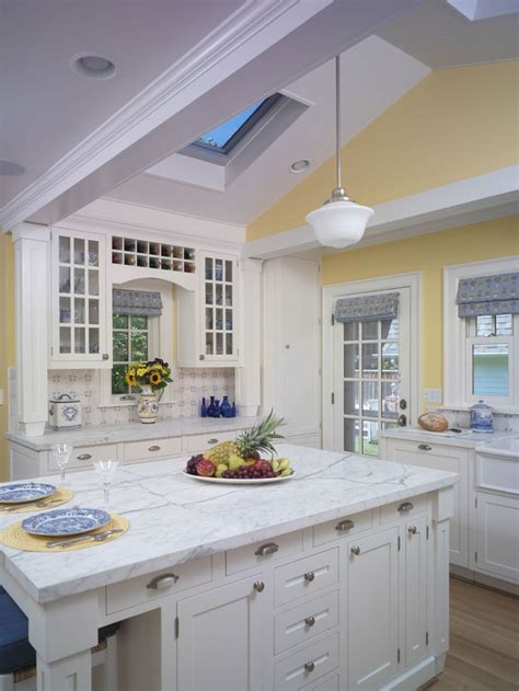 yellow and white kitchen cabinets tudor style kitchens tudor style ceiling lights photos 1985