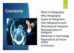 3d holographic projection technology ppt free download