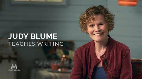 Judy Blume Teaches Writing