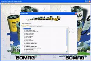 Bomag 2010 Electronic Parts Catalog Download