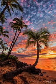 Beautiful Sunset Beach Hawaii
