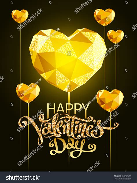 valentines day greeting card stock vector 350707544 valentines day greeting card stock vector 350707544