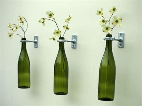riciclare vasi di vetro riciclare le bottiglie di vetro 5 idee strepitose