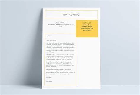 12 Cover Letter Templates For Word [best Free Downloadable
