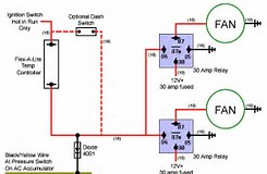 fan relay wiring diagram fan image wiring diagram dual electric fan wiring diagram jodebal com on fan relay wiring diagram