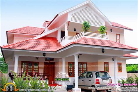 beautiful finished house  kerala kerala home design