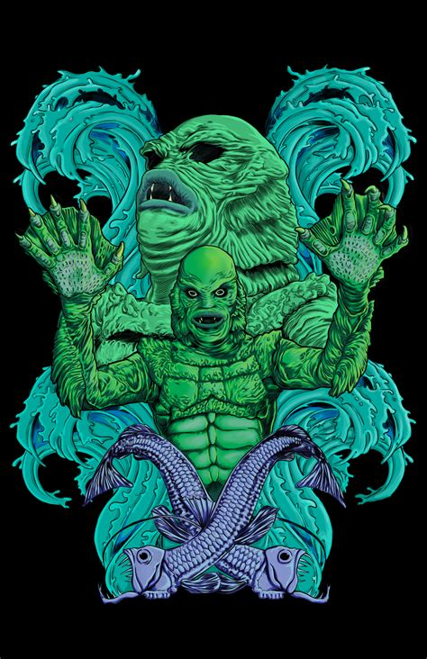 Creature from the Black Lagoon by Cthulhuzann on Newgrounds