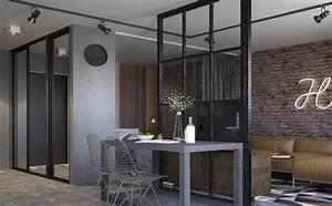 Wohnzimmer Industrial Style : industrial k che ~ Whattoseeinmadrid.com Haus und Dekorationen