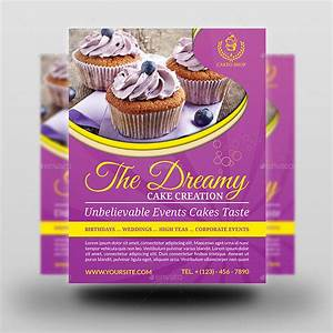 Free Brochure Maker Download Cake Flyer Template Vol 5 By Owpictures Graphicriver