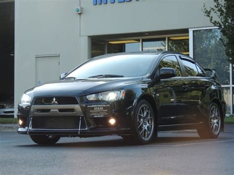 Mitsubishi Lancer Evolution Automatic by 2008 Mitsubishi Lancer Evolution Mr Navigation