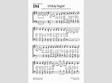 Oh, Holy Night Hymnaryorg