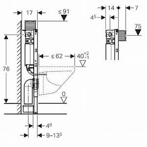 Geberit Spülkasten Maße : geberit duofix element f r wand wc 82cm mit omega up ~ Michelbontemps.com Haus und Dekorationen