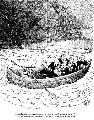Barco Roto Dibujo by Juan Manuel Grijalvo Rc Quino Todos Vamos En El