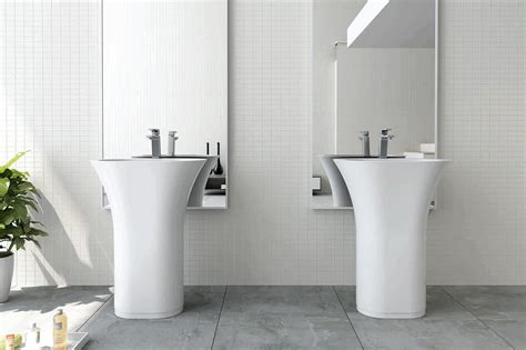 freestanding basin