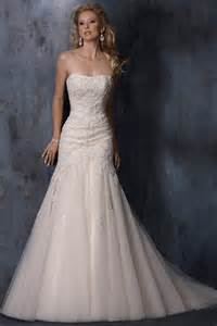 ivory wedding gowns vintage mermaid ivory wedding dresses cherry