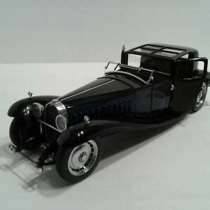 The car is made in black colour with royal blue. Franklin Mint 1930 Bugatti Royale Coupe Napoleon | eBay