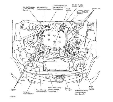 2005 Infiniti G35 Engine Diagram by Knock Sensor Location Where Is The Knock Sensor Located