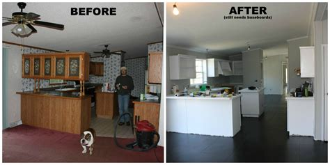 mobile home remodeling      budget mobile home makeovers