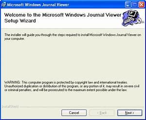 Microsoft windows journal viewer descargar for Microsoft journal viewer 1 5