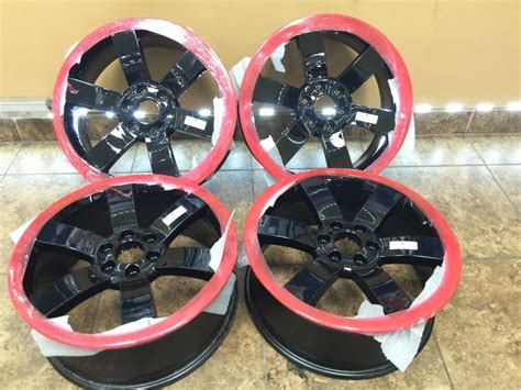 chevy trailblazer gmc  ss rims wheels replica oem