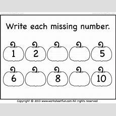 Missing Numbers  110  Worksheet  Free Printable Worksheets Worksheetfun