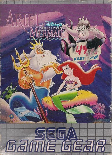 disneys ariel   mermaid  game gear  mobygames