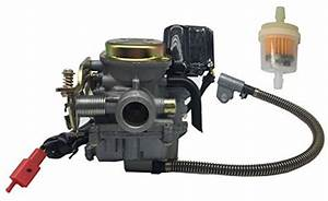 Hity Motor Pd18j 18mm Carburetor For 4 Stroke Gy6 49cc