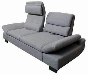 Kleines 2 Sitzer Sofa : sofa mit hohen verstellbaren lehnen sofadepot ~ Bigdaddyawards.com Haus und Dekorationen