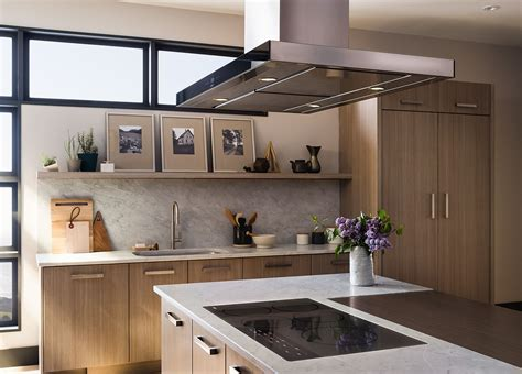 contemporary kitchen hoods wolf low profile modern island review cteih42i 2494