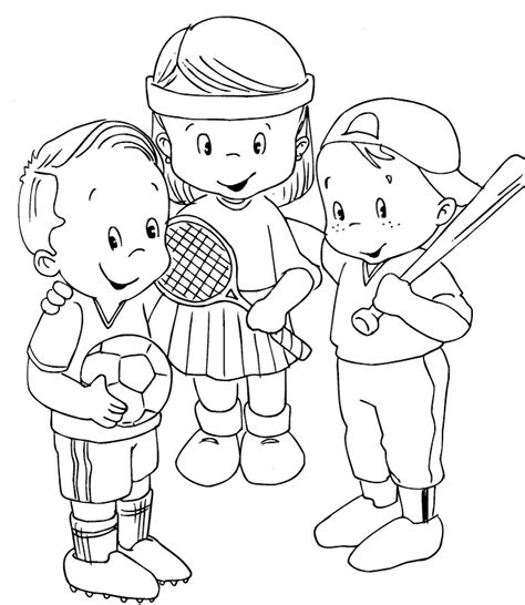 sports coloring pages  kids az coloring pages