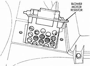 1993 New Yorker  3 3 Engine  Blower Motor Quit Running