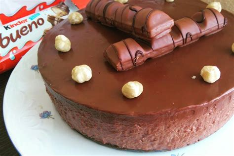tarta kinder bueno con thermomix receta