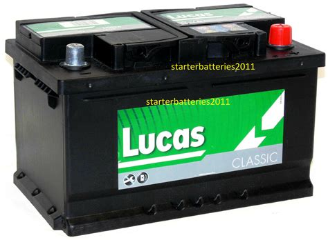 lucas lc hd calcium silver car battery type