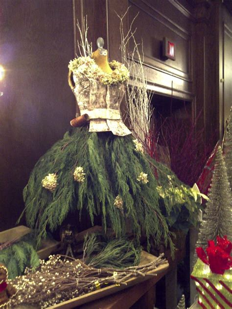 christmas mannequin escaparatismo navidad pinterest