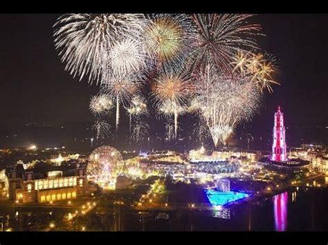 huis ten bosch new year sasebo japan 2017 new years fireworks finale