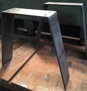 Pied De Table Metal Carré : best 25 pied metal ideas on pinterest pied table metal banc metal and pied de table design ~ Teatrodelosmanantiales.com Idées de Décoration